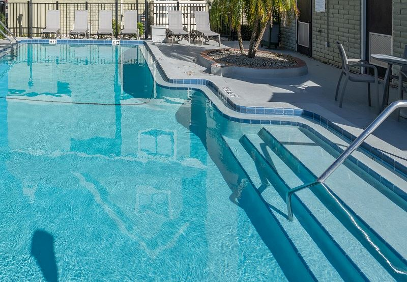 Outdoor Swimming Pool at Chase Suite Hotel Tampa