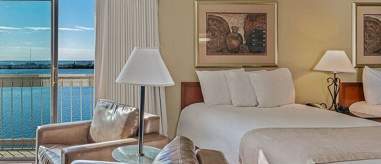 Bayview Studio King Suites in Chase Suite Hotel Tampa